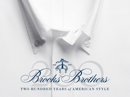 Brooks Brothers Infinity Window